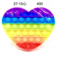 27-10 Поп ит Сердце 400 шт в кор.