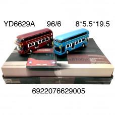 YD6629A Модели автобуса 6 шт в блоке 16 блоке в кор.