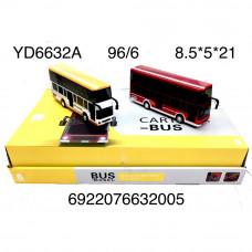YD6632A Модели автобуса 6 шт в блоке 16 блоке в кор.