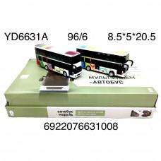 YD6631A Модели автобуса 6 шт в блоке 16 блоке в кор.