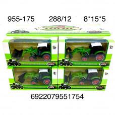 955-175 Трактор 12 шт в блоке,24 блоке в кор.