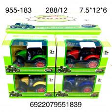 955-183 Трактор 12 шт в блоке, 288 шт в кор.