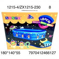 1215-4/ZX1215-230 Надувной бассейн 180 см 8 шт в кор.