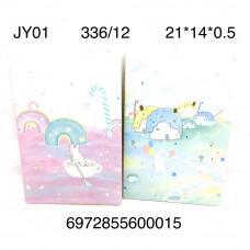 JY01 Блокнот 12 шт. в блоке,28 блоке. в кор.