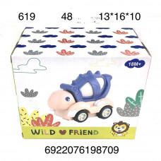 619 Игрушка для малышей Черепаха, 48 шт. в кор.
