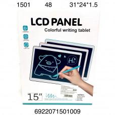 """1501 Электронный планшет для рисования 15"""" 48 шт в кор."""