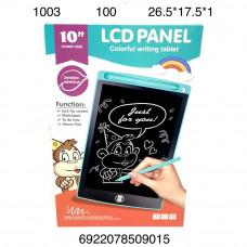 """1003 Электронный планшет для рисования 10"""" 100 шт в кор."""