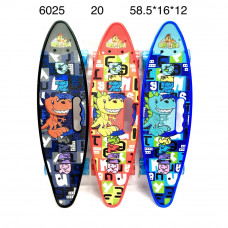 6025 Скейтборд, 20 шт. в кор.