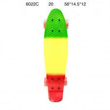 6022C Скейтборд, 20 шт. в кор.