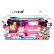 35563B Кассовый аппарат игровой набор, 12 шт. в кор.