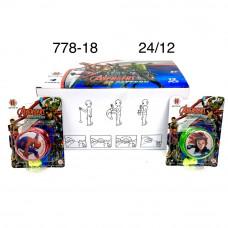 778-18 Йо-йо игрушка 12 шт. в блоке, 24 блоке. в кор.