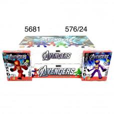 5681 СтикБоты Супергерои 24 шт. в блоке,24 блоке. в кор.