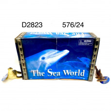 D2823 Морские животные 24 шт. в блоке,24 блоке в кор.