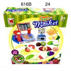 616B Набор продуктов с ножом и кассой 20 дет, 24 шт в кор.