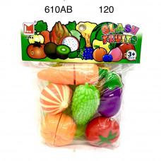 610AB Набор продуктов нарезка в пакете, 120 шт в кор.