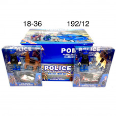18-36 Фигурки Полиция 12 шт. в блоке,16 блоке в кор.