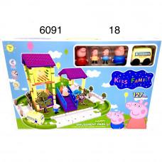 6091 Животные Парк развлечений 18 шт в кор.