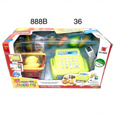888B Набор Касса с продуктами 36 шт в кор.