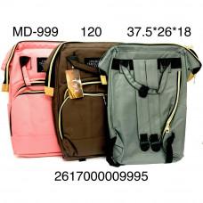 MD-999 Рюкзак в ассортименте, 120 шт. в кор.