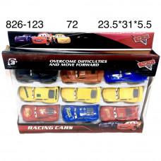 826-123 Модельки Тачки 9 шт. в наборе, 72 шт. в кор.