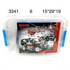 3341 Конструктор Машина, 6 шт. в кор.