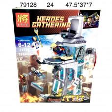 79128 Конструктор Супер герои 515 дет., 24 шт. в кор.