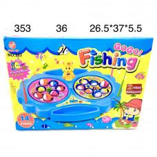 353 Рыбалка музыкальная 14 рыбок, 36 шт в кор.