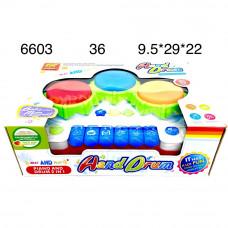 6603 Музыкальная игрушка синтезатор 36 шт в кор.