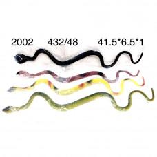 2002 Змейка резиновая 48 шт. в блоке,9 блоке. в кор.