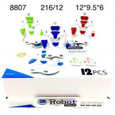 8807 Инерционная игрушка Роботы 12 шт. в блоке,18 блоке. в кор.