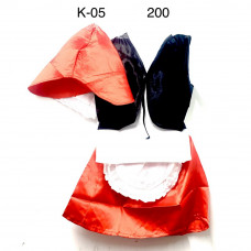 K-05 Костюм Красная шапочка 200 шт в кор.